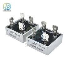 2 шт./лот KBPC5010 Single-фазы диодный мост выпрямителя 50A 1000V KBPC 5010 силовой выпрямительный диод электронные Компоненты