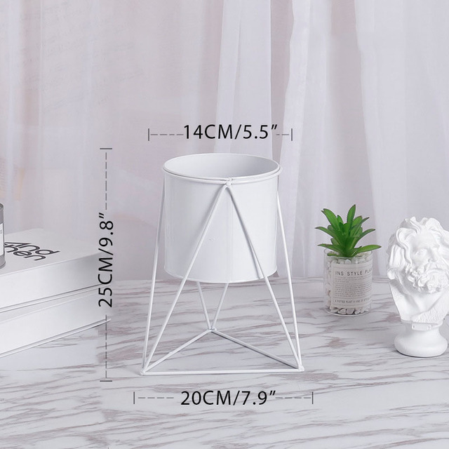 Nordic Iron Flowerpot