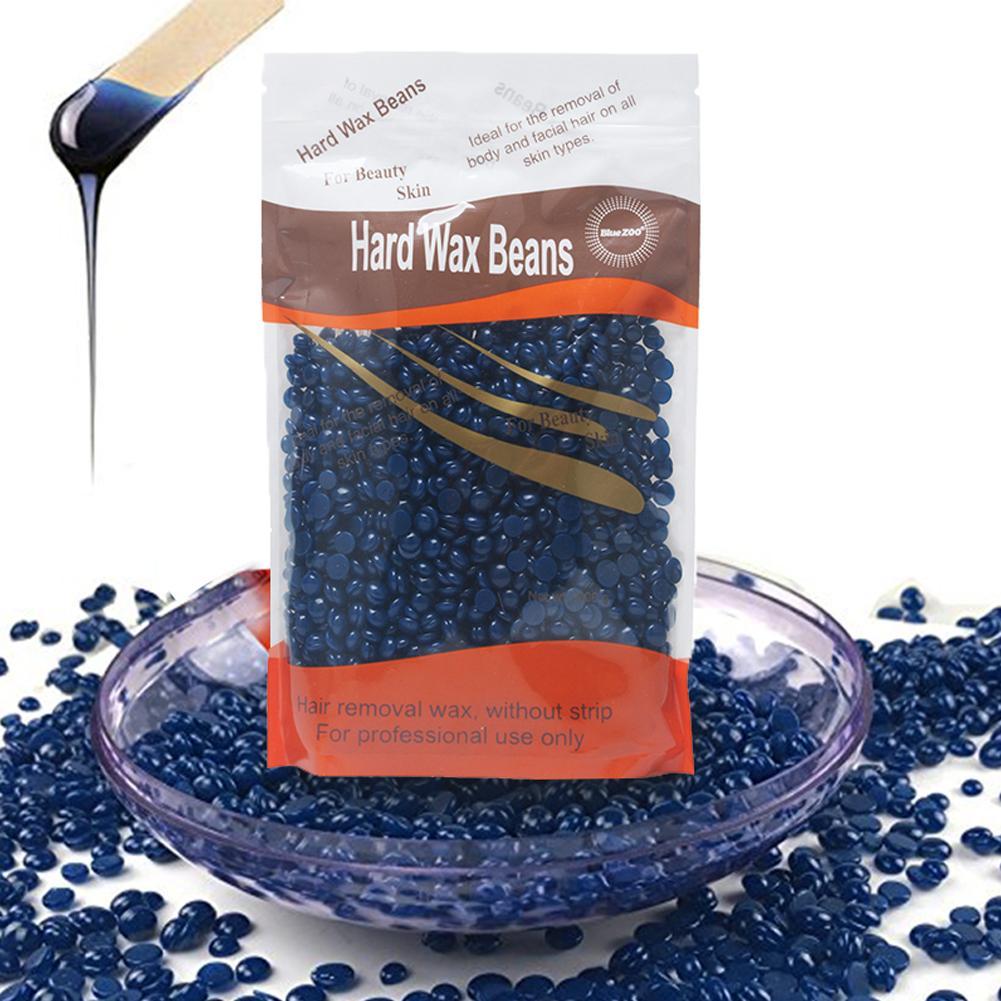 New 100g Wax Beans No Strip Depilatory Hot Film Hard Wax Pellet Waxing Bikini Face Hair Removal Bean For Women Men 4 Kinds Small
