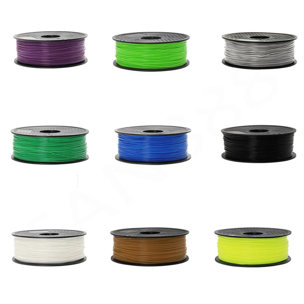 3dプリンタフィラメントpla-175-ミリメートル-1-キロ-3dプリントfdm複数の色