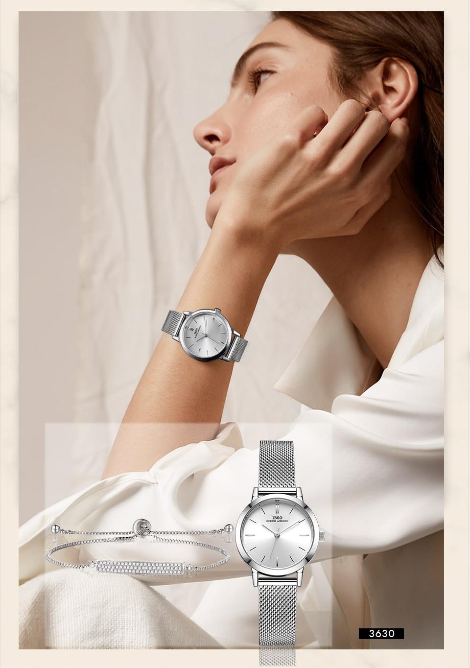 1 (16) Montre-Bracelet bijoux ensemble cadeau pour femmes