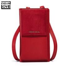 Scrub Small Women Shoulder Bags Brand Designer Soft Leather Phone Wallet Purse Fashion Messenger Mini Female Handbags