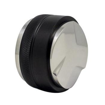 -Double-Head Coffee Tamper 58mm Coffee Distributor Coffee Powder Hammer Adjustable Height Coffee Accessories недорого