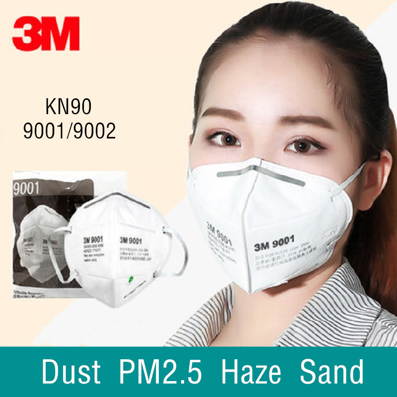 10/25pcs 3M N90 9001/9002 Dust Protective Masks Anti PM2.5 Fog Haze Proof Respirator Industrial Daily Protect Family Pro Site