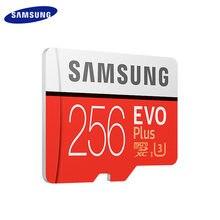 Samsung-tarjeta de memoria de Clase 10, Microsd U3 TF, MB/S, 64GB, 100% GB, 64GB, UHS-I, 100 GB, EVO PLUS, 128 Original, 256