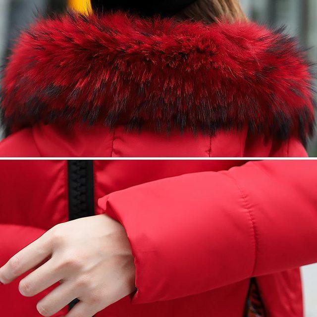 Women jacket parkas 2019 fashion solid zipper winter female jacket coat plus size warm cotton winte