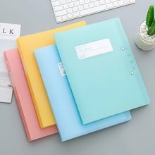 A4 paper data clip folder storage file bag organizer school office supplies colored document holder file folder for student new coloffice 2018 new impression a4 paper color dot folder four color business office folder data storage folder new filing product