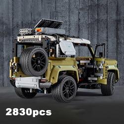 2830pcs Technicing Series Off-road Vehicle Car Model Building Blocks Assembly Bricks Kids Educational Children's Toys