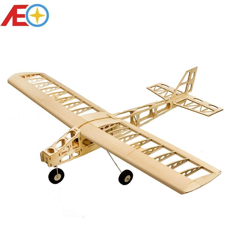 2018 nowy drewna Balsa model samolotu chmura tancerz 1300mm rozpiętość skrzydeł zestaw balsy laserowo wycinane zabawki budowlane Woodiness model/drewna samolot w Samoloty RC od Zabawki i hobby na  Grupa 1