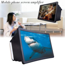 CASEIER Foldable 3D Curved Mobile Phone Screen Video Magnifier for iPhone Xiaomi Samsung Smartphone Screen Amplifier Desk Holder
