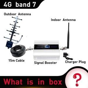 Image 5 - 4G LTE DCS 2600 MHz Moblie Điện Thoại Booster 2600 Lặp Tín Hiệu Tăng 65dB Mạng 4G Di Động Khuếch Đại 5dBi roi Ăng Ten Trong Nhà