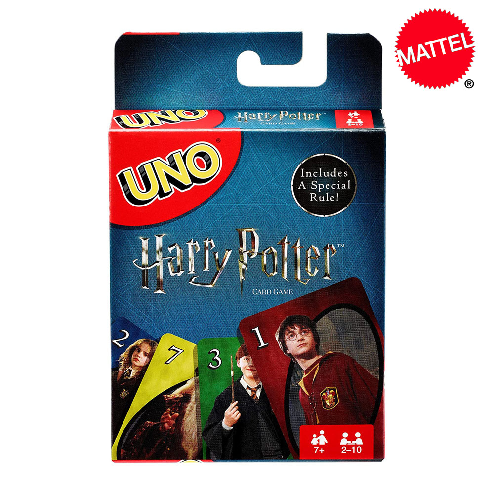 Mattel Games UNO Harry Potter Card Game Family Funny Game Fun Poker Playing Cards Kids Toys