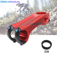 PRO HONSUN CNC Aluminum Alloy Road/Mountain Bicycle Stem 70MM/90MM 31.8*28.6MM XC MTB AM Bicycle Handlebar Stems Parts|Bicycle Stem| |  -