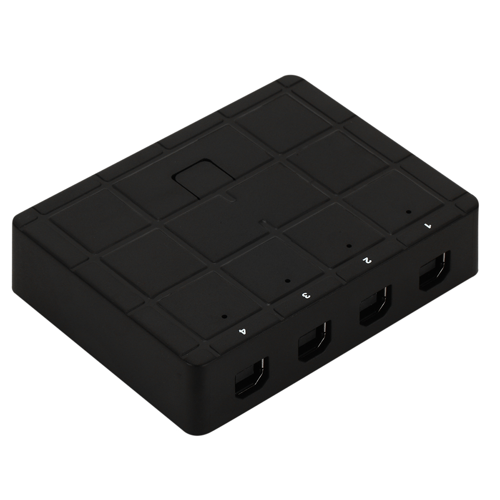 4 Ports Printer Sharing Switches USB 2.0 Manual School Meeting Working Decoration For PC Computer Scanner Printer