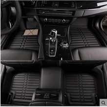 цена на no odor full surrounded Special car floor mats wear-resisting non-slip carpets waterproof rugs for LexusIS250