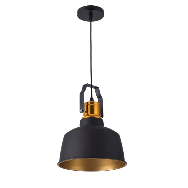 Led Pendant Lights Vintage Loft E27 Hang Lamp And 12W Pendant Lamps Aluminum Dining Lamp Wood Hanging Lightings
