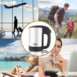 Image 3 - 0.5L Mini czajnik elektryczny ze stali nierdzewnej 1000W Portable Travel bojler na wodę Pot Sonifer
