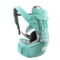 Portador de bebê ergonômico infantil criança bebê hipseat estilingue frente enfrentando bebê envoltório transportadora para 0-18 meses