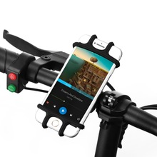Bicycle Phone Holder For iPhone Samsung Universal Mobile Cell Phone Holder Bike Handlebar Clip Stand GPS Mount Bracket raxfly bicycle phone holder for iphone samsung motorcycle mobile cellphone holder bike handlebar clip stand gps mount bracket