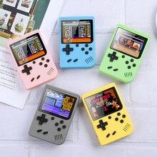 Console di gioco portatili da 3 pollici Console di videogiochi retrò 400 IN 1 lettore di giochi a 8 Bit giocatori di giochi portatili gamepad per regalo per bambini