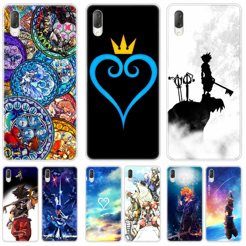 Hot Anime Kingdom Hearts Hard Case For Sony Xperia L1 L2 L3 X XA XA1 XA2 Ultra E5 XZ XZ1 XZ2 Compact XZ3 M4 Aqua Z3 Z5 Premium