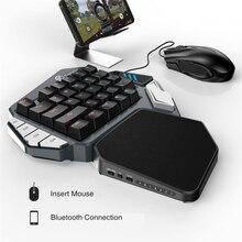 GameSir Z1 لعبة لوحة المفاتيح الميكانيكية لوحة المفاتيح مع مفاتيح قابلة للبرمجة ل شاحن هاتف محمول يعمل بنظام تشغيل أندرويد/ويندوز PC
