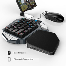 Gamesir Z1ゲームキーボードメカニカルキーパッドプログラム可能なキーandroidの携帯電話windows pc