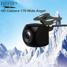 Caméra de vue arrière de voiture universelle avec objectif Fisheye HD caméra de sauvegarde véhicule caméra dassiantance de stationnement 170 grand ange