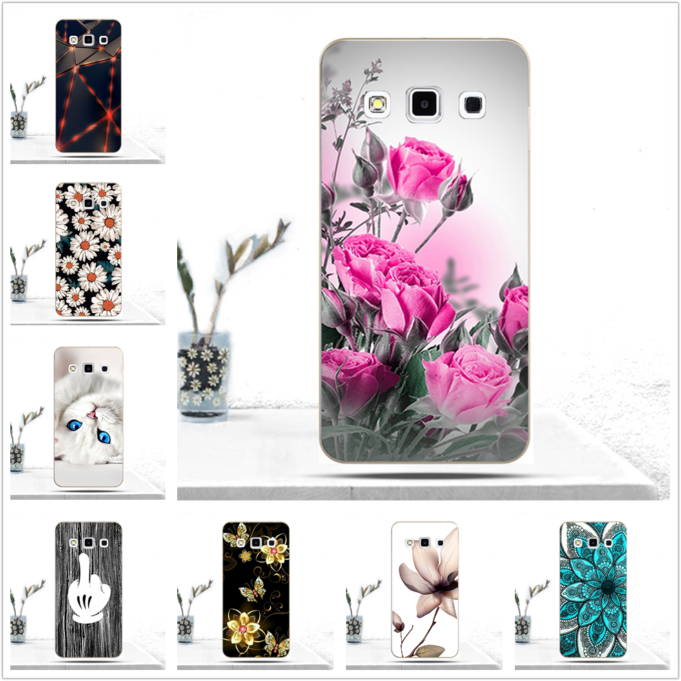 Soft TPU Phone Cases for Samsung Galaxy A3 2015 Case for Samsung A3 Cover for Samsung Galaxy A 3 A300 A300F A300H A3000 SM-A300F image
