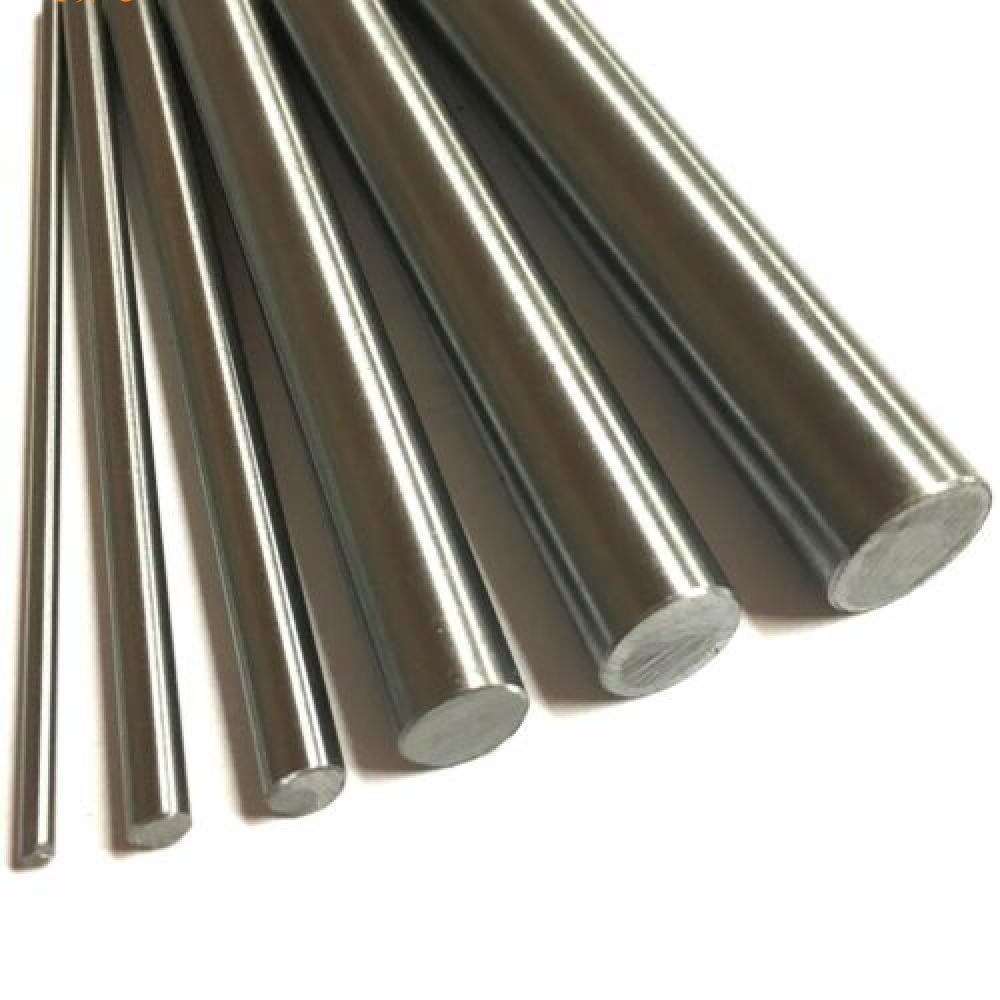 316 Stainless Steel Round Rod Bar Ground Stock Linear Shaft 0.5m 500mm 1.64ft length M3 M4 M5 M6 M8 M10 M12 M14 M15 M16 M18 M20(China)