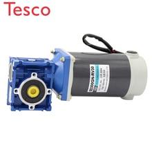 цена на DC12V/24V 300W 5D300GN-RV30 1800rpm DC geared motor worm gear self-locking reducer High torque / output shaft diameter 14mm