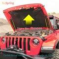 Крышка капота для автомобиля  подъемная опора  пружинный Газовый амортизатор  гидравлический стержень  стойки для Jeep Wrangler 2007-2018 JK