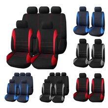 AUTOYOUTH Fundas de asiento para coche, accesorios de Interior, Airbag Compatible, cubierta de asiento para Lada, Volkswagen, rojo, azul, gris