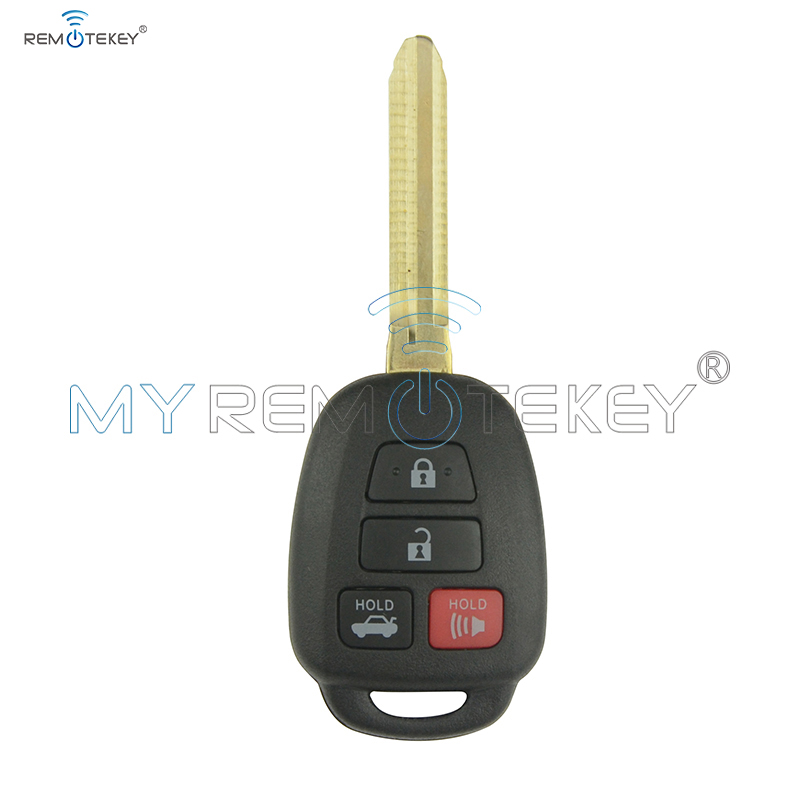 Remote car key HYQ12BDM 4 button 314.4mhz G chip TOY43 key blade for Toyota Camry 2012 2013 2014 remtekey|key blade|blade blade|buttons buttons - title=