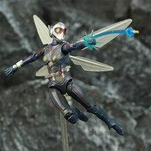 """Avispa 6 """"figura de acción Antman 2 hormiga hombre y la avispa Lady nadata KOs SHF Endgame Legends Avenger juguetes muñeca"""
