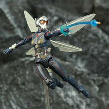"Wasp 6 ""Action Figure Antman 2 karınca adam ve Wasp bayan Nadia KO erkek SHF Endgame Legends Avenger oyuncak bebek"