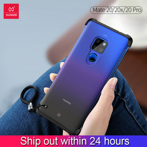 Image 1 - XUNDD Case for HUAWEI Mate 20 Pro Case Protective Cases Matte Frosted Shockproof Cover Unframed Shell For Huawei Mate 20 X Case