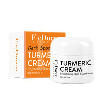 Herb Turmeric Face Cream Repair Acnes scar Dark spot Treatment Moisturizer Whitening Lightening Against  Acne skin care 30ml 5