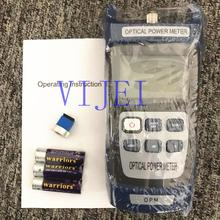 VIJEI KING 60SB FTTH Optical Power Meter with SC/FC Converter Head Adapter  50dBm~+26dBm