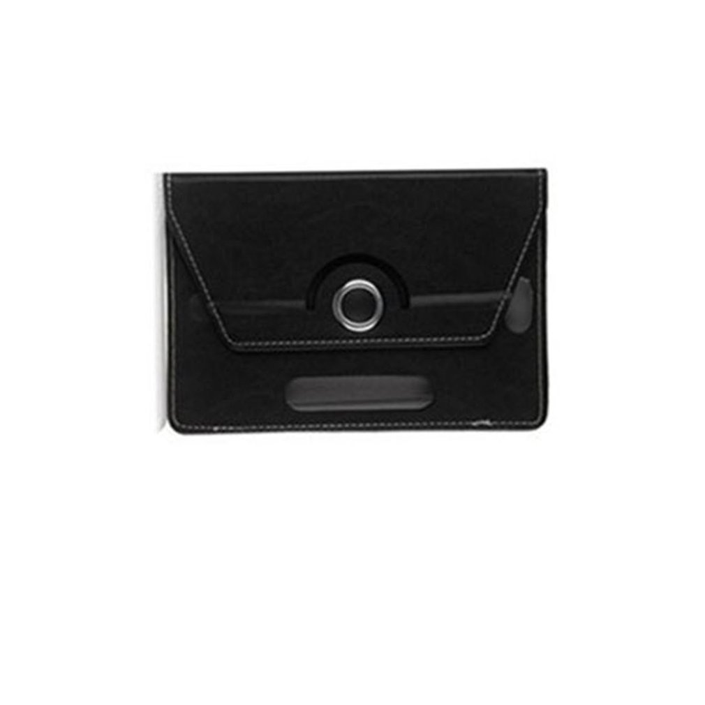 10 Inch Tablet Computer Case Three Hole Universal Four Corner Hook 360 Degree Rotating Leather Case