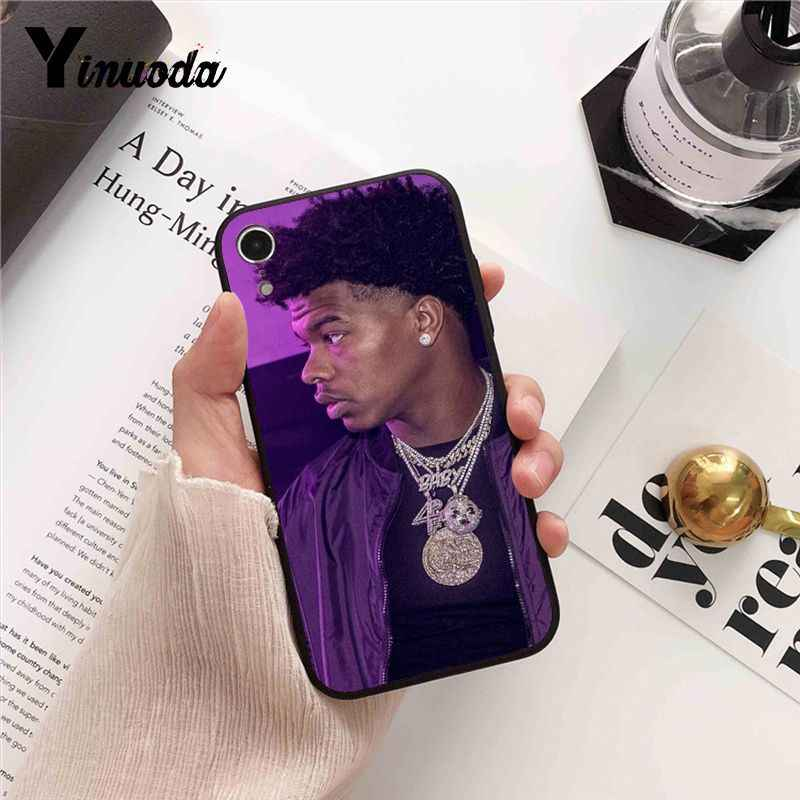 Yinuoda Lil Baby Rapper Custom Foto Soft Phone Case Cover voor iPhone 8 7 6 6S 6Plus X XS MAX 5 5S SE XR Fundas Capa