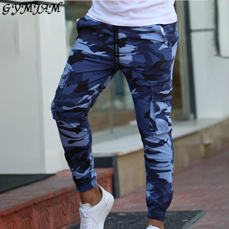 Camouflage Fashion Streetwear Men's Trousers 2019 New Hip Hop Casual Jogger Pants Brand Men's Trousers