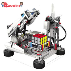 New Hot Programmable Building Block Assembly Robot Kit DIY Multifunctional Educational Learning Kit Toy Games