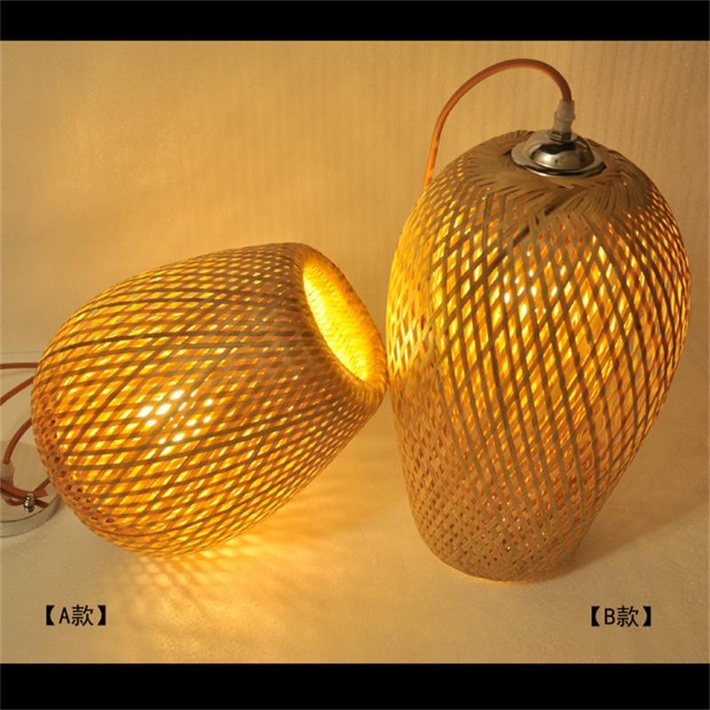 da sua casa bambu led luminárias