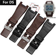 Genuine Leather Bracelet  Watchband for DZ1216 DZ1273 DZ4246 DZ4247DZ2