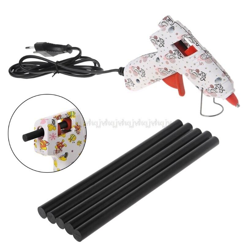 5 шт. термоплавкий клей-карандаш черный высокий Клей 11 мм для DIY ремесленных игрушек инструмент для ремонта N22 19 Прямая поставка