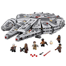 Star Wars Force Awakens Millennium Falcons solo mini Figure Compatible Legos Model Building Blocks bricks Toys For Children