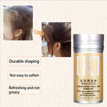 1 Piece Fresh Smell New Design Hair Wax Stick Wand Broken Hair Repair Wax for Female and Men Hair Wax Rod for Hair Finishing immetee new product hair color wax for men