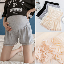933# Summer Thin Modal Cotton Maternity Shorts Adjustable High Waist Belly Underpants for Pregnant Women Pregnancy Loose Legging