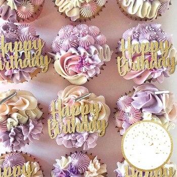 Babeczka urodzinowa wykaszarki, mama siostra ciasto topper spersonalizowany brokat topper kwiat topper decor dowolne słowa